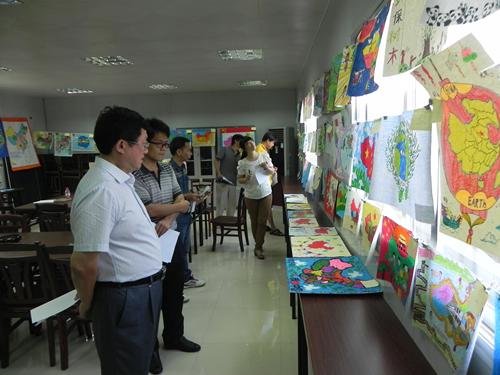 """广西桂林开展""""美丽中国""""第二届全国国家版图知识竞赛团体赛和少儿手绘"""